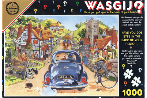 Jigsaw puzzle:Wasgij? Have you got eyes in the back of ...