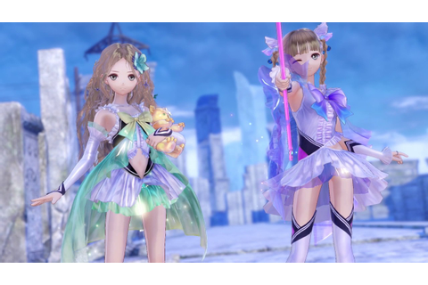 Blue Reflection All Transformations and Gameplay in ...