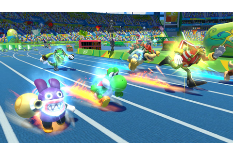 Mario & Sonic at the Rio 2016 Olympics (Wii U): size ...