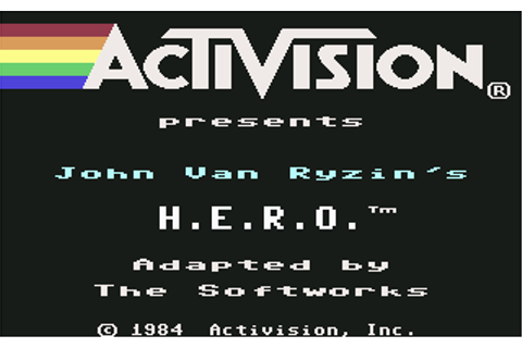 Download H.E.R.O. (ColecoVision) - My Abandonware