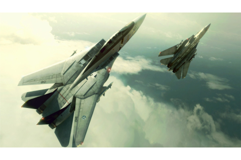 CGI, Video Games, Airplane, Aircraft, F 14 Tomcat, Ace ...