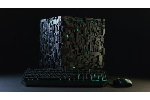 Assimilate your desktop with this Star Trek 'Borg Cube ...