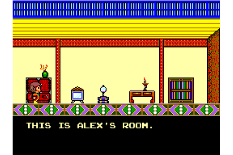Alex Kidd in High-Tech World (1987) by Sega Master System game