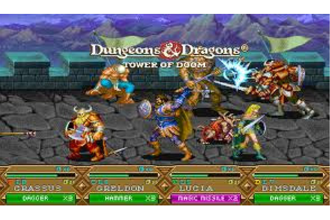 Dungeons and Dragons: Tower of Doom | Arcade Emulator Games
