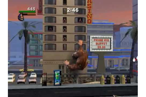 Rampage: Total Destruction (PS2 Gameplay) - YouTube