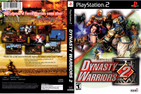 COVERS.BOX.SK ::: dynasty warriors 2 (ps2) - high quality ...