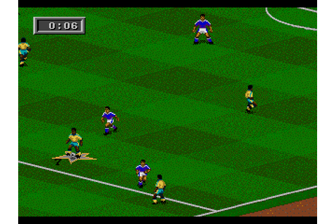 Play FIFA Soccer 95 Sega Genesis online | Play retro games ...