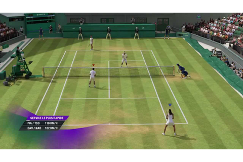 (HD)Grand Chelem Tennis 2 - Séquence de jeu #1 - YouTube