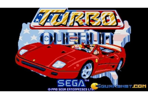 Turbo Outrun gameplay (PC Game, 1989) - YouTube
