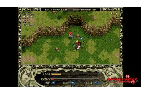 Ys I & II Chronicles+ PC Game Free Download