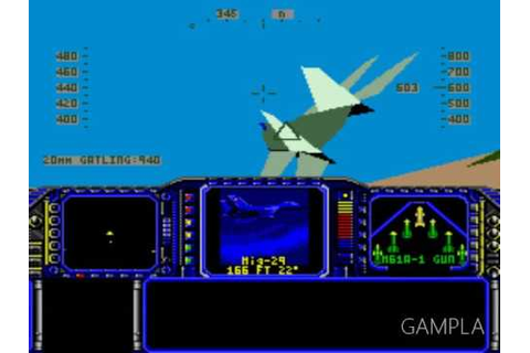 F 117 Night Storm SEGA Genesis - YouTube