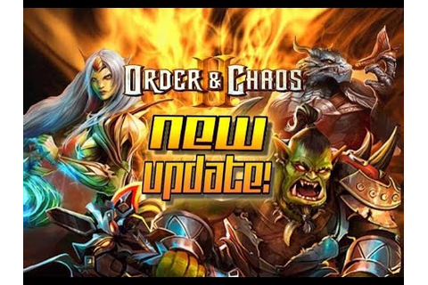 Order and Chaos 2: Redemption - NEW update - Everything ...