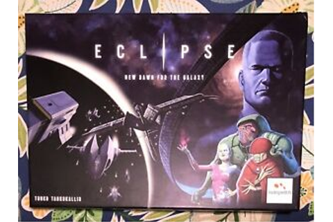 Eclipse New Dawn for the Galaxy board game great condition ...