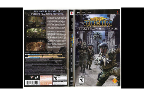 SOCOM U S Navy Seals Tactical Strike PSP - YouTube