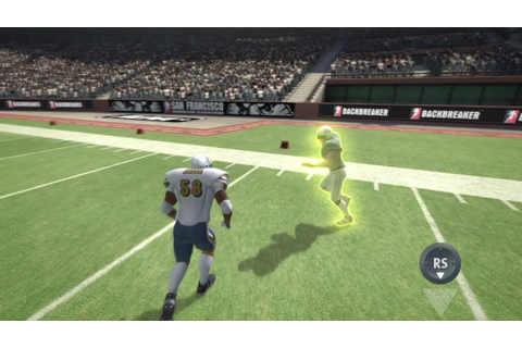 Official Backbreaker football [HD] video game defense ...