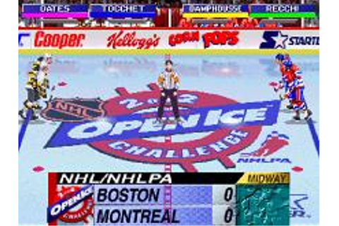 NHL Open Ice 2 on 2 Challenge Download (1996 Sports Game)