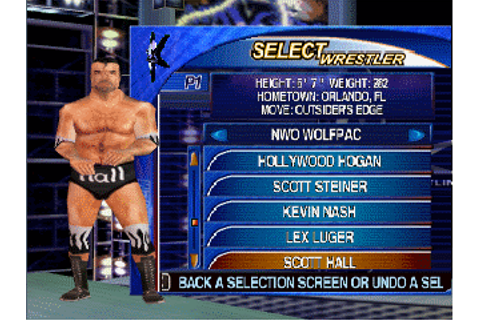 WCW Mayhem - Download - ROMs - Nintendo 64 (N64)