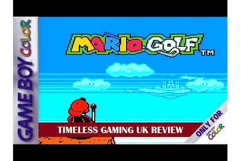 Mario Golf - Game Boy Color - Review - YouTube