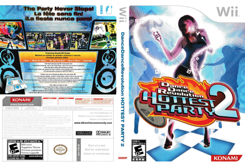 Dance Dance Revolution: Hottest Party 2 (Game only) Prices ...