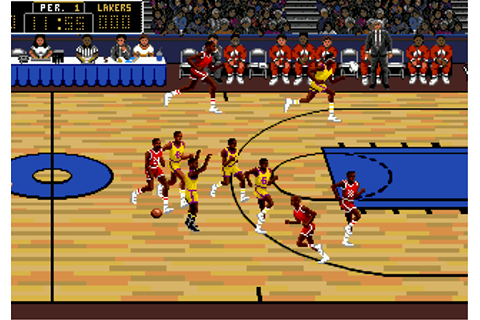 Play Lakers versus Celtics and the NBA Playoffs Sega ...