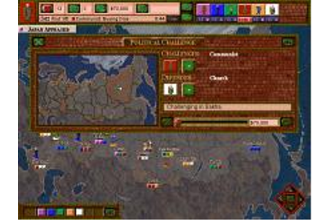Tom Clancy's Politika Download (1997 Strategy Game)