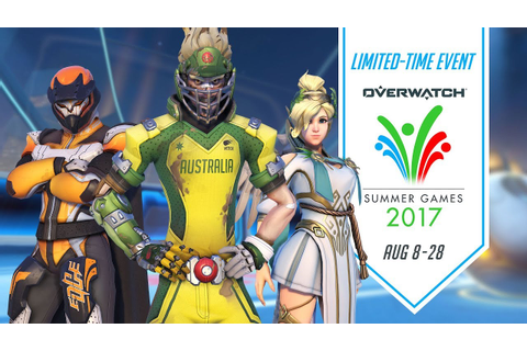 Overwatch Seasonal Event | Summer Games 2017 - YouTube