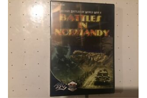 Battles in Normandy PC Decisive Battles of WWII A Matrix ...