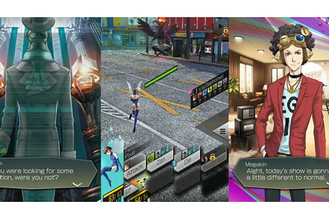 10 minutes of Dx2 Shin Megami Tensei: Liberation English ...