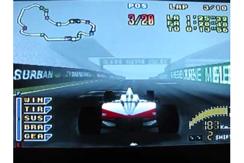 F1 Pole Position, N64 - YouTube