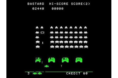 SPACE WAR PART 3 SPACE INVADERS CLONE BOOTLEG 1978 MAME ...