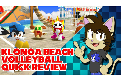 Klonoa Beach Volleyball Quick Review - YouTube
