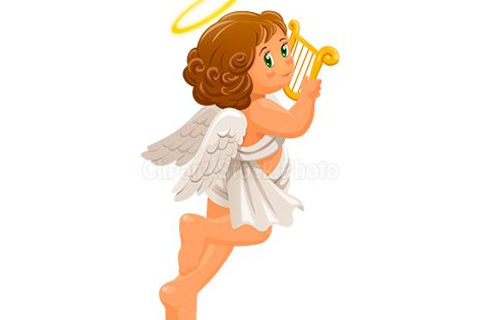Angel Clip Art | Christmas Angel Clip Art, Free Cherub ...