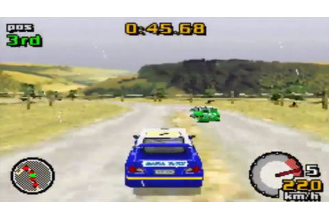 Top Gear Rally (Gameboy Advance Gameplay) - YouTube