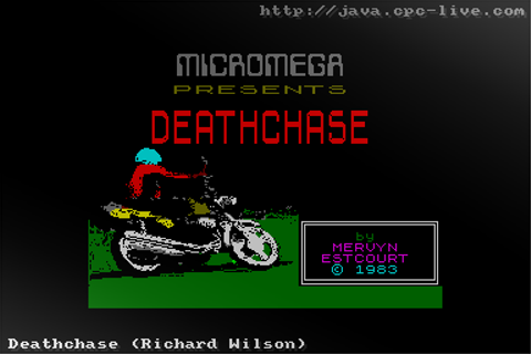 Deathchase (Richard Wilson) - JavaCPC games site