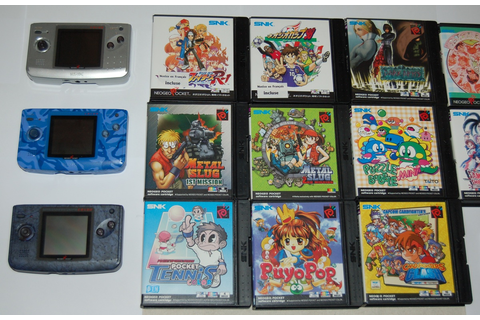Neo Geo Pocket Color games