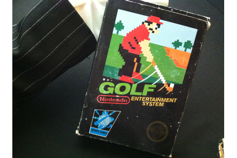 Golf NES Boxed Nintendo Game 1980s