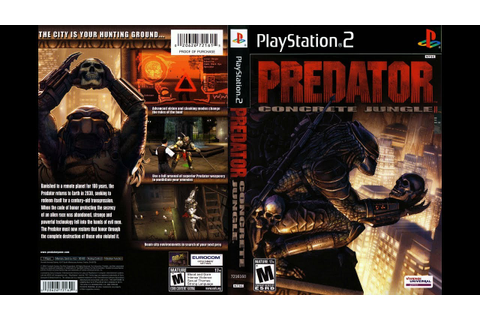 PREDATOR CONCRETE JUNGLE PS2: OPENING MUSIC #2 ...