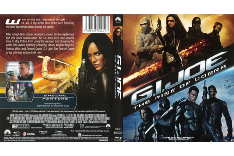 Jaquette DVD de GI Joe The Rise Of Cobra - GI Joe le ...