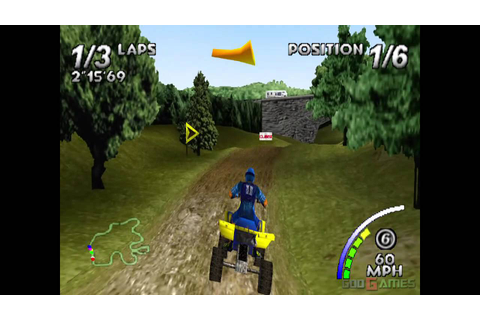 ATV: Quad Power Racing - Gameplay PSX / PS1 / PS One / HD ...