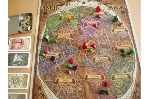 'Discworld: Ankh-Morpork' board game and 'Guards! Guards ...
