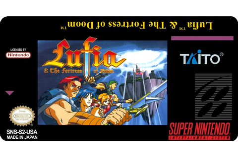 Gamer Labels: Lufia & The Fortress of Doom
