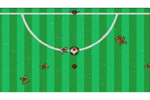 ATARI ST MICROPROSE SOCCER STAR BEST FAVORITE SOCCER - YouTube