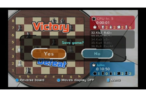 Wii Chess (Wii) Screenshots