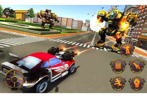 Robot Car War Transform Fight Game for Android And PC ...