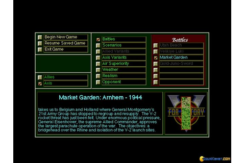 V for Victory: Market Garden download PC