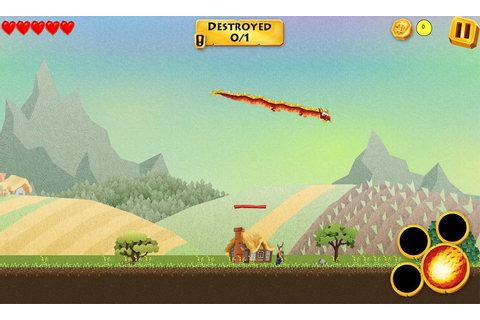 Dragon Revenge for Windows Phone 8, destroying everything ...