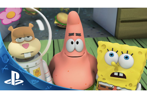 SpongeBob HeroPants Video Game - Launch Trailer | PS Vita ...
