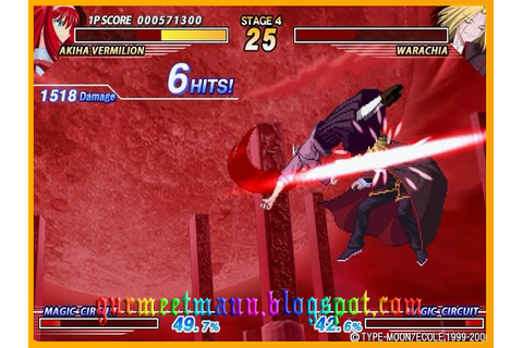 Melty blood Full Ver Pc Game - Download Full Ver Pc Games