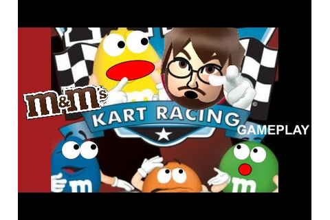 M&M's Kart Racing (Wii) Gameplay [2,000 SUBSCRIBER SPECIAL ...