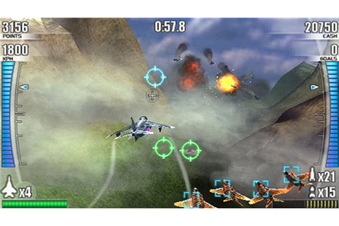 After Burner: Black Falcon Game | PSP - PlayStation